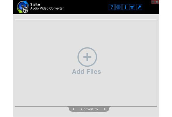 Audio Video Converter - Home Screens