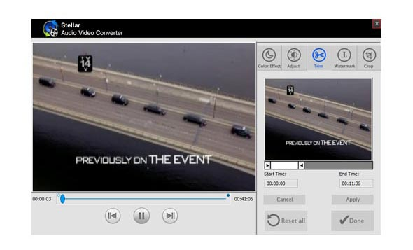 Check the converted Audio Video files
