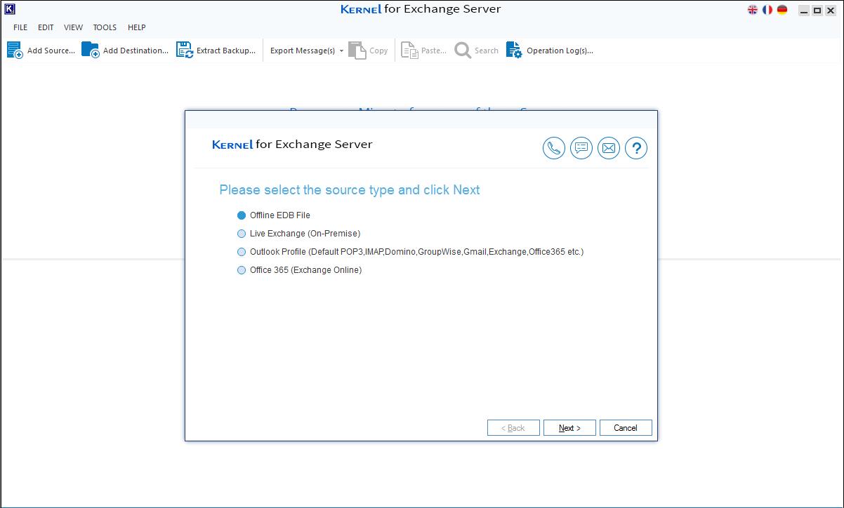 EDB to PST Converter - Convert EDB Mailbox to Outlook PST File