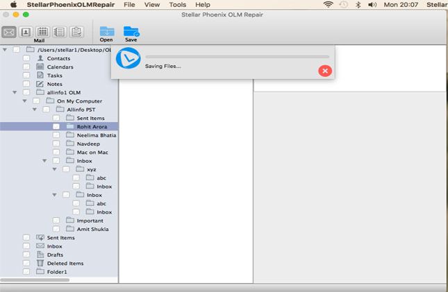 OLM Recovery Tool — Recover Corrupt Mac Outlook Data Files