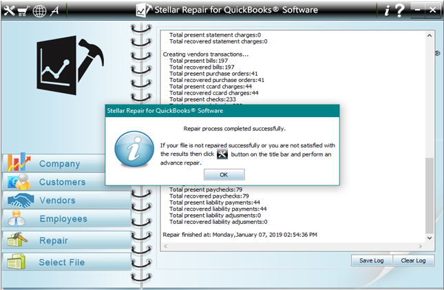 Repair QuickBooks Files software